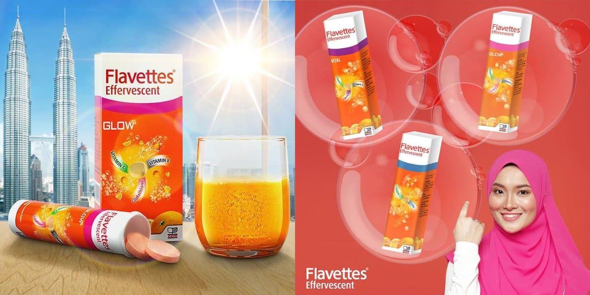 Kebaikan Flavettes Glow Malaysia