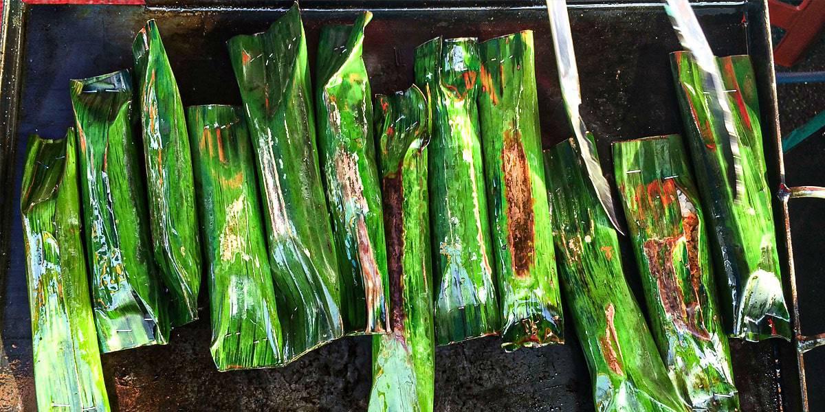 Makanan Tradisional Melayu - Pulut Panggang