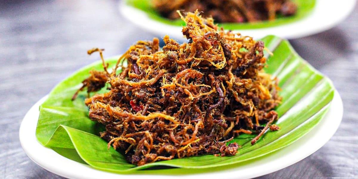 Makanan Tradisional Melayu - Serunding