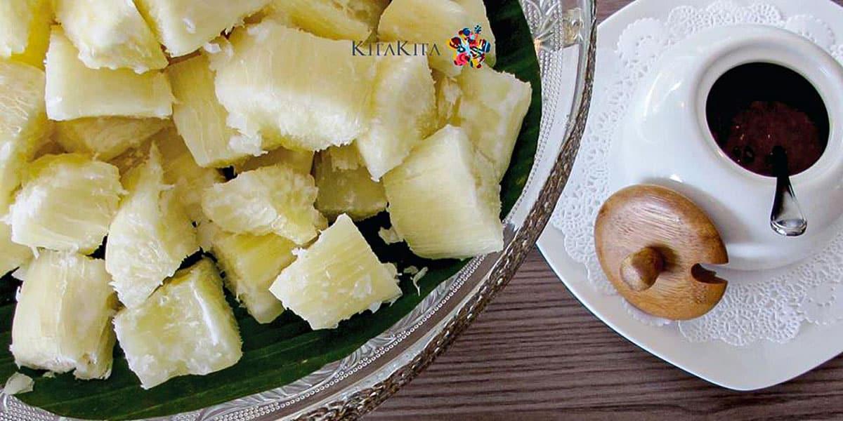 Makanan Tradisional Melayu - Ubi Rebus