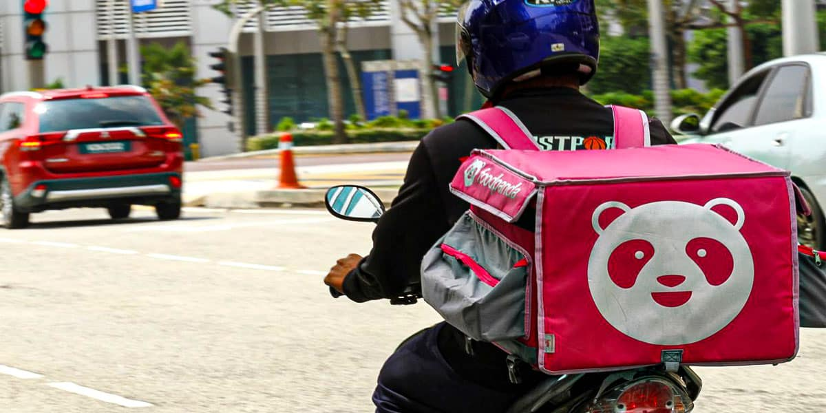 Foodpanda Contactless Delivery