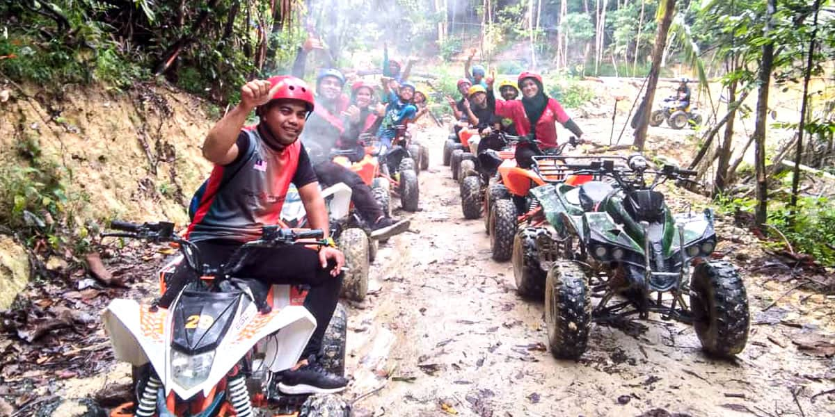 Tempat Menarik di Kuala Pilah - ATV Kg Jkin Extreme Park