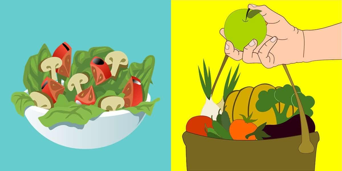 Makan Sayur-Sayuran