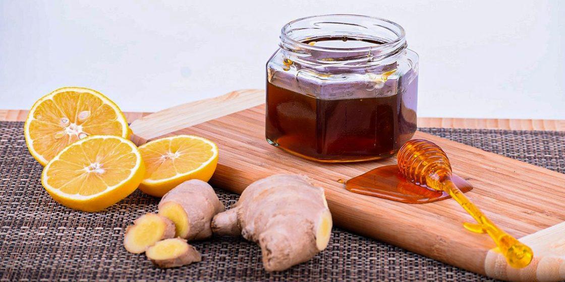 Resepi Air Halia Lemon Madu
