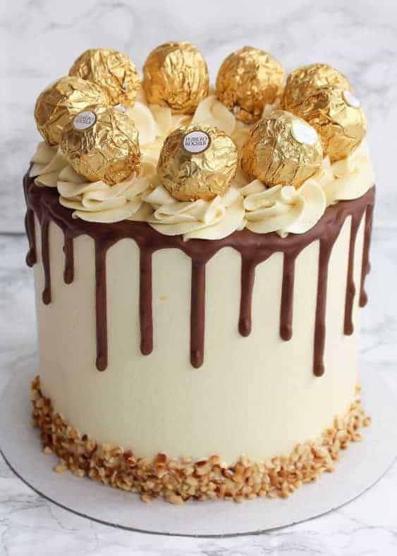 Cara Hias Kek Guna Coklat