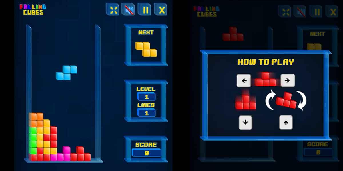 Online Game Percuma Tetris Game