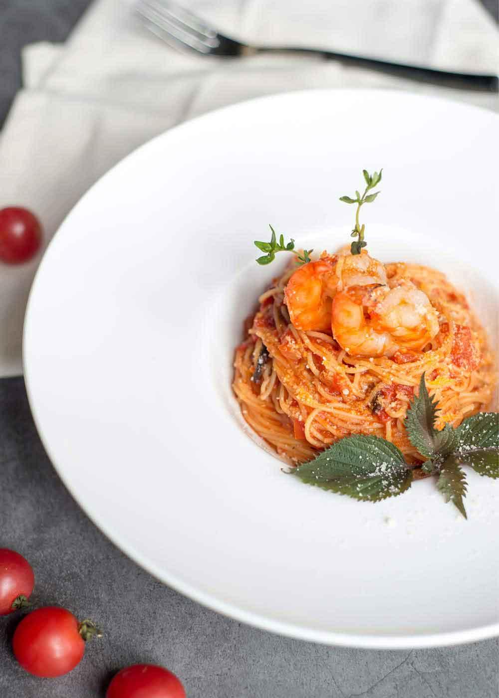 Resepi Spaghetti Marinara Prego